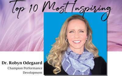 Day 4: Robyn Odegaard — Top 10 Women 2016