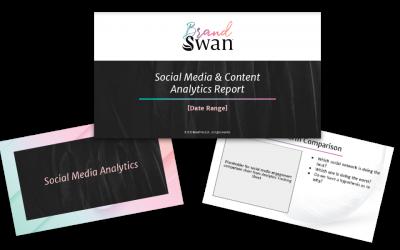 Marketing Analytics Report Template