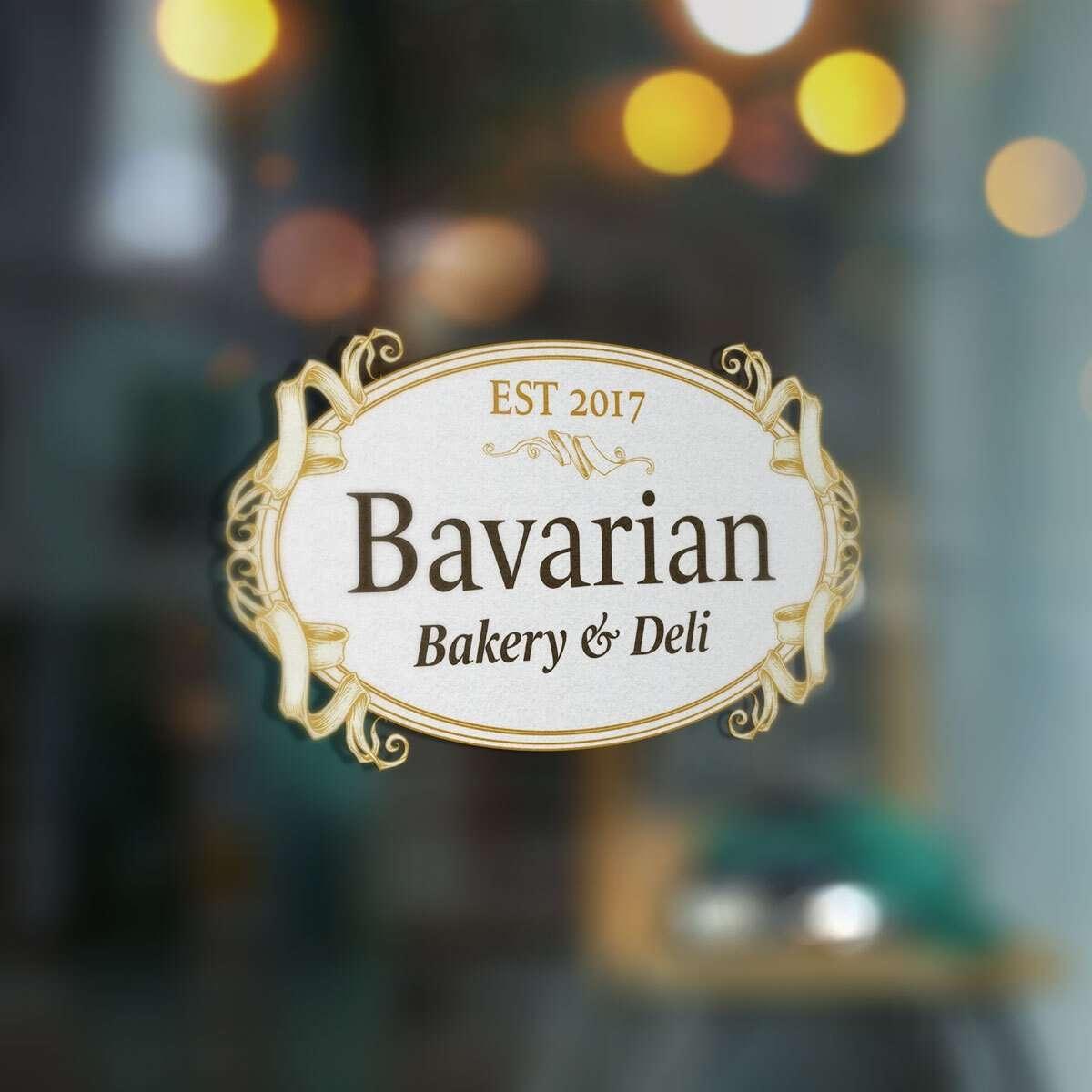 Bakery logo design from BrandSwan, a Delaware branding agency