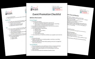 Event Promotion Checklist