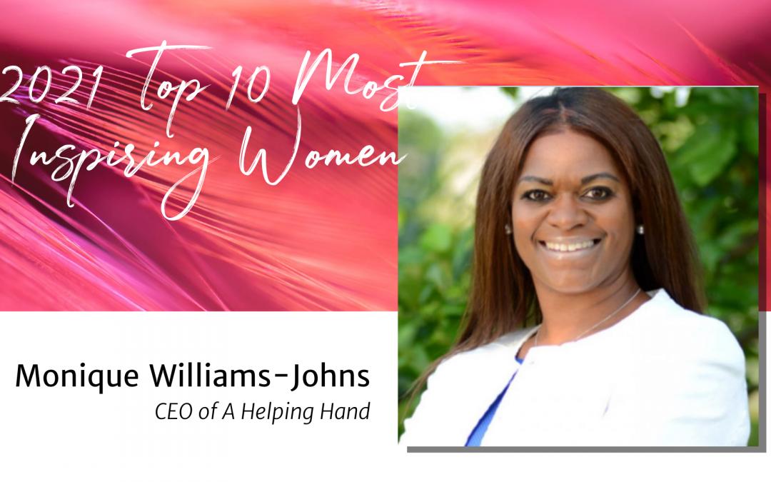Day 4: Monique Williams-Johns — Top 10 Women 2021