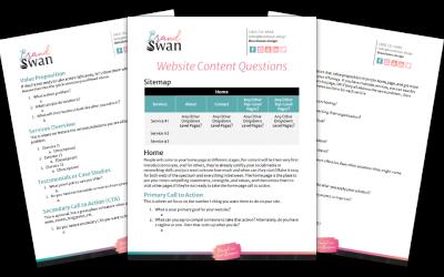 Website Content Questions Template