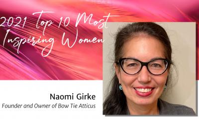 Day 5: Naomi Girke — Top 10 Women 2021