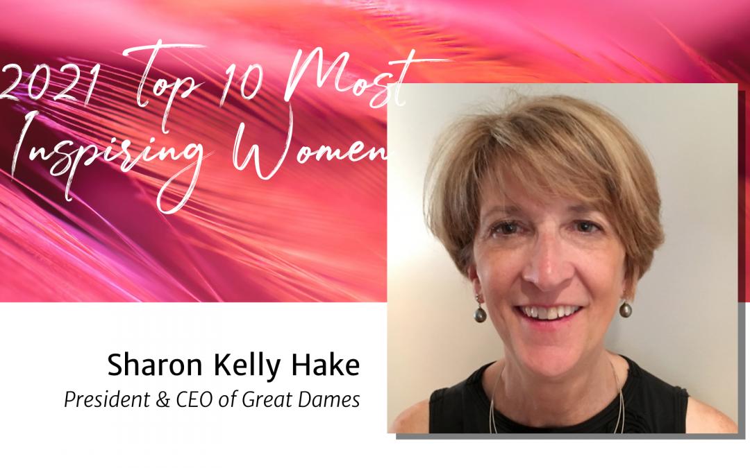 Day 10: Sharon Kelly Hake — Top 10 Women 2021