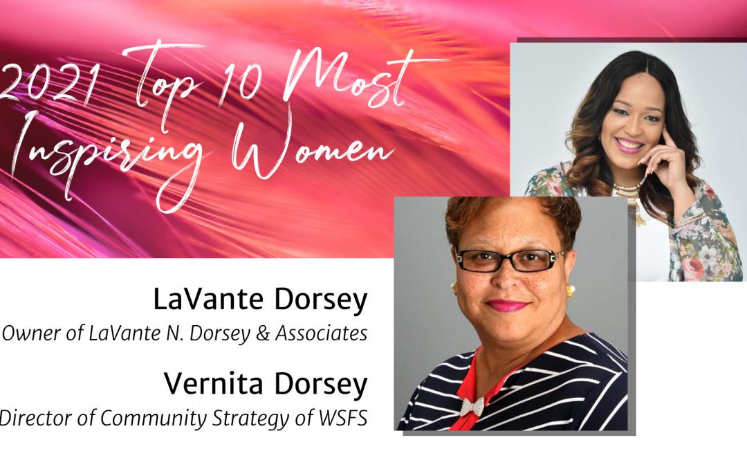 Day 8 & 9: Vernita & LaVante Dorsey — Top 10 Women 2021