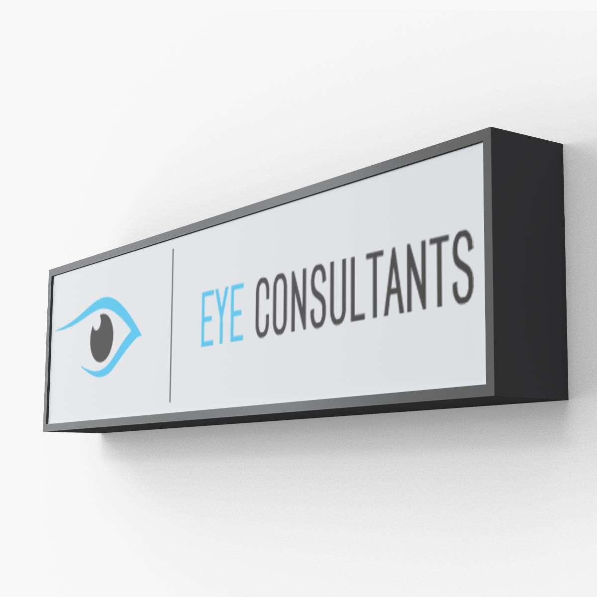 Optometrist logo design by BrandSwan, a Delaware branding agency