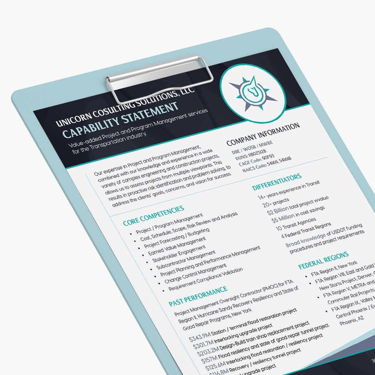 Program management design by BrandSwan, a Delaware branding agency